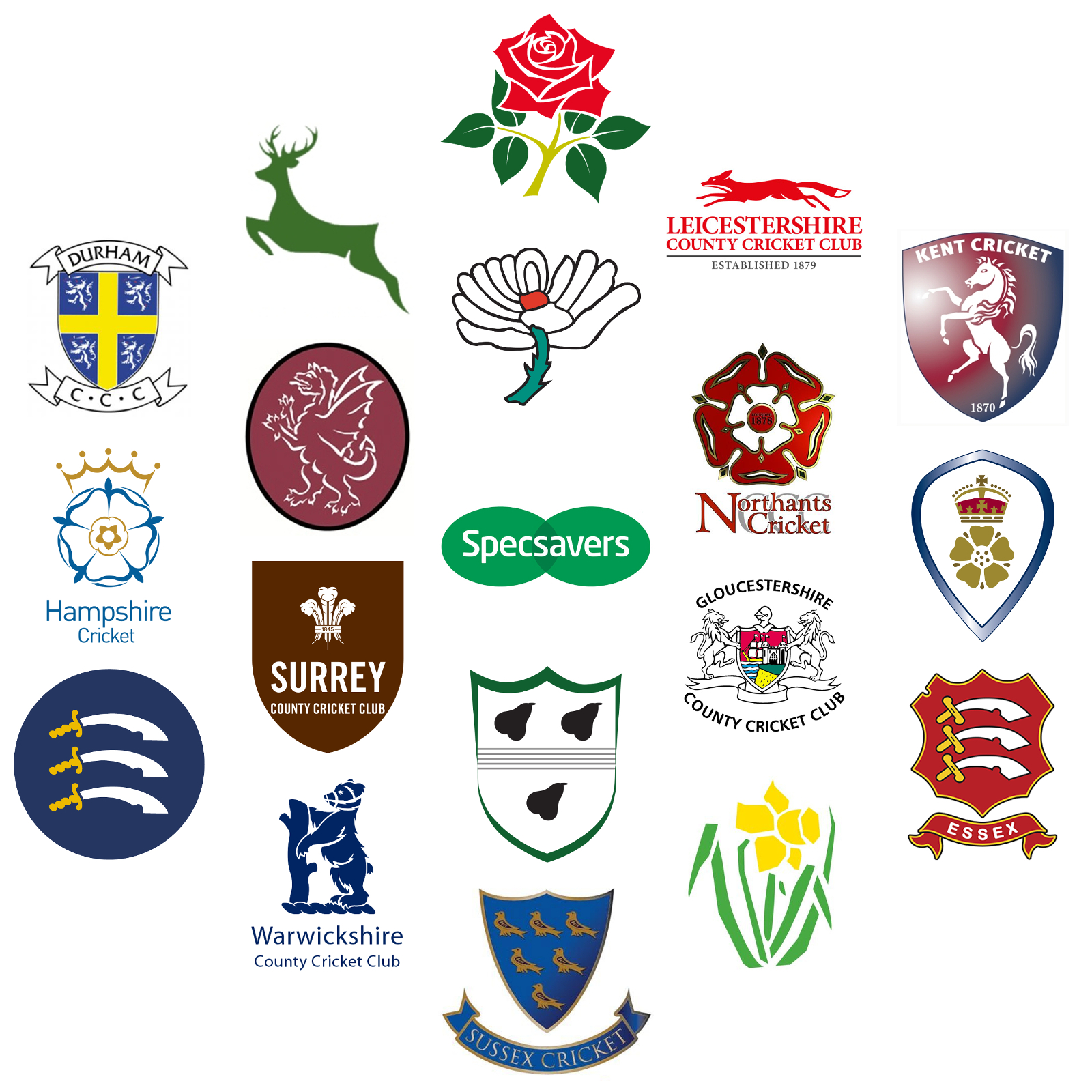 Image result for County Championship logos