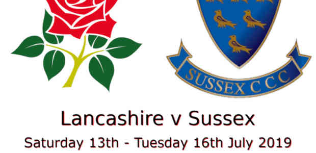 Lancashire v Sussex Championship July 2019