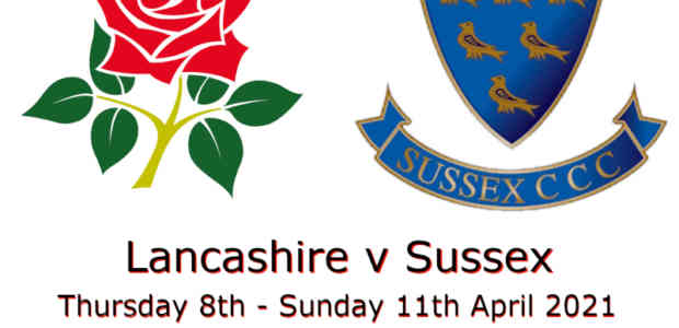 Lancashire v Sussex Championship April 2021