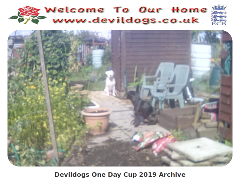 Devildogs One Day Cup 2019 Archive