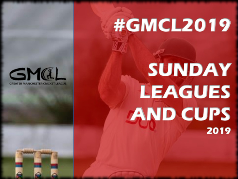 GMCL Sunday League & Cup Fixtures 2019