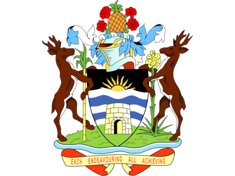 West Indies, Antigua coat of arms