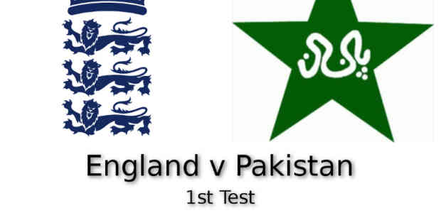 England v Pakistan 1st Test Lords
