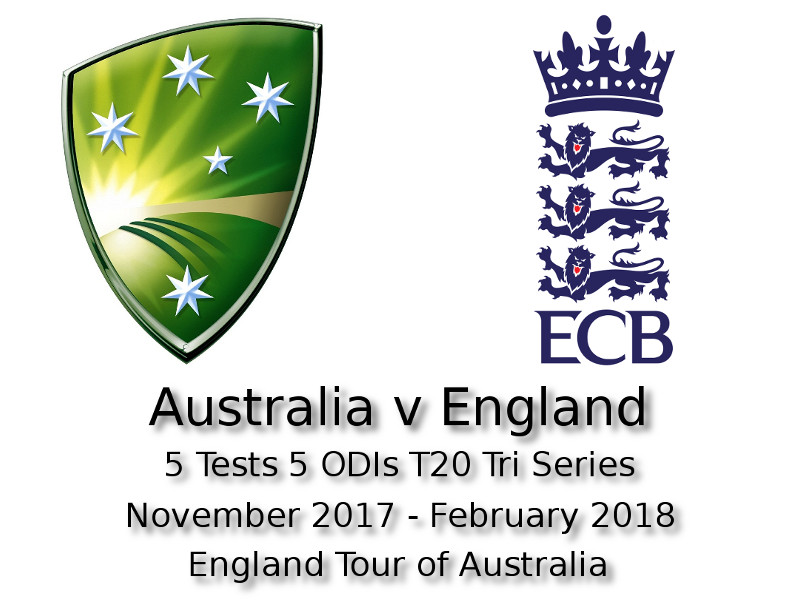 Devildogs England Tour of Australia 2017/18 Archive