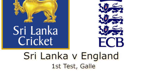 Sri Lanka v England Galle 1st Test