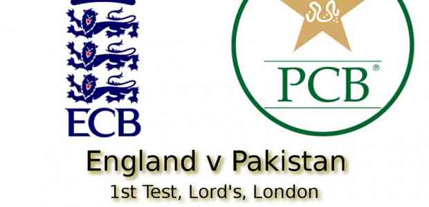 England v Pakistan Lord's 1st Test