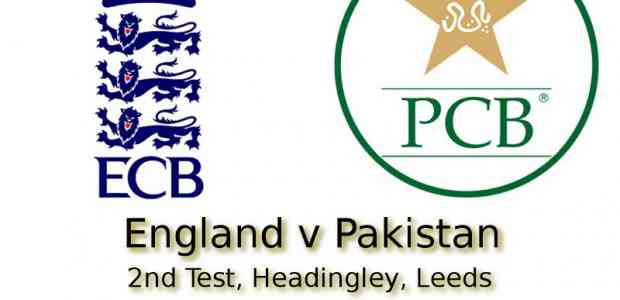 England v Pakistan Headingley 2nd Test