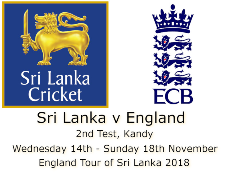 Sri Lanka v England Kandy 2nd Test