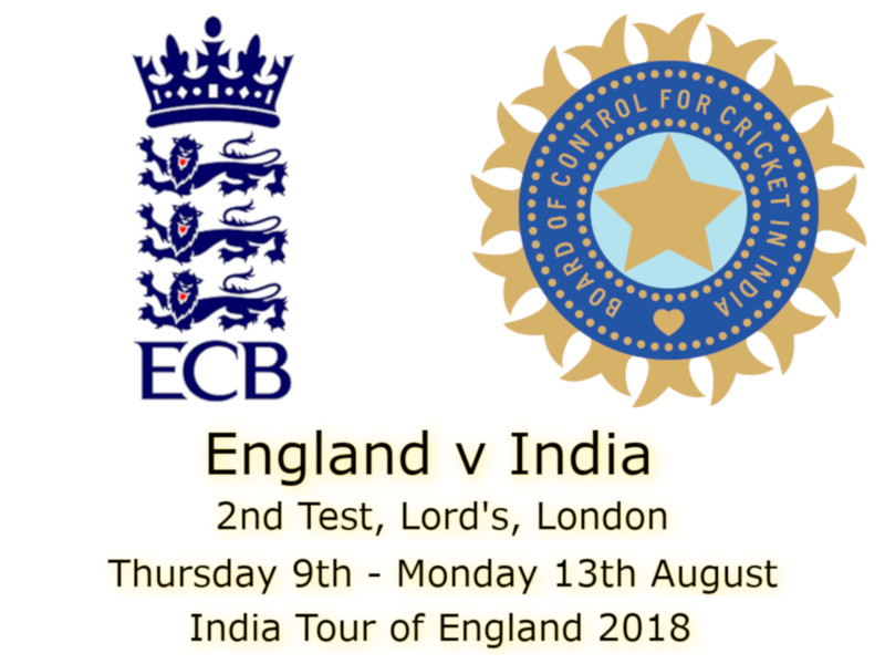 England v India Lord's 2nd Test : Devildogs Blog Archive
