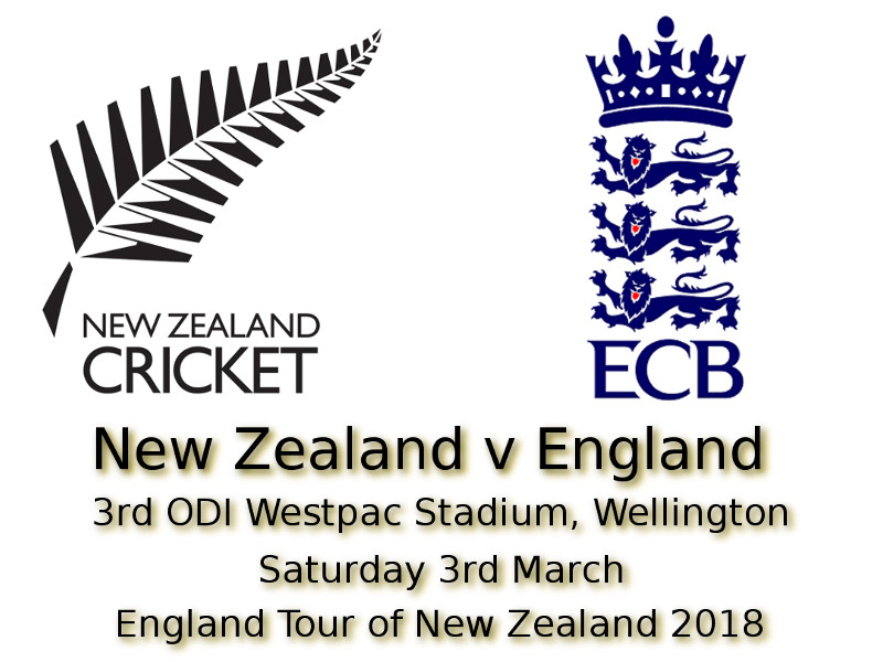 3rd ODI Wellington