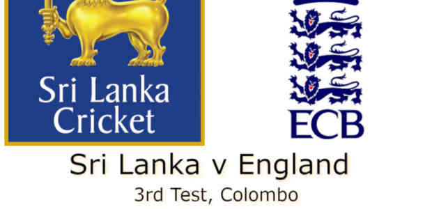 Sri Lanka v England Colombo 3rd Test