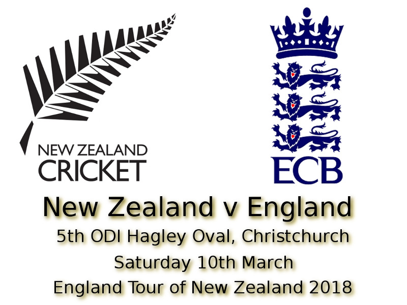 5th ODI Christchurch