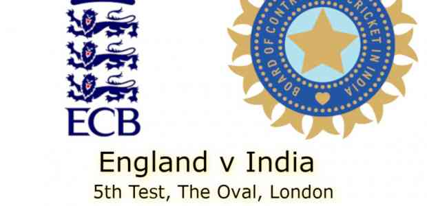 England v India The Oval 5th Test