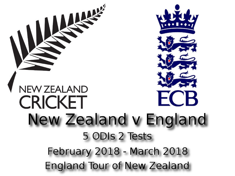 Devildogs England Tour of New Zealand 2018 Archive