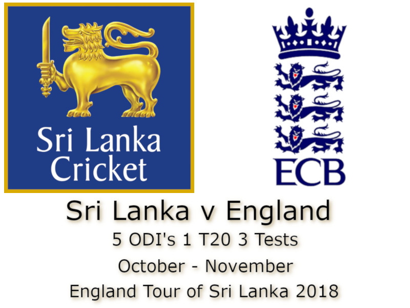 England Tour of Sri Lanka 2018
