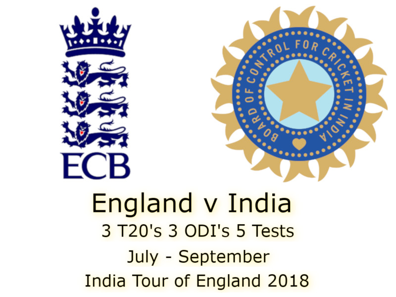 Devildogs India Tour of England 2018 Archive
