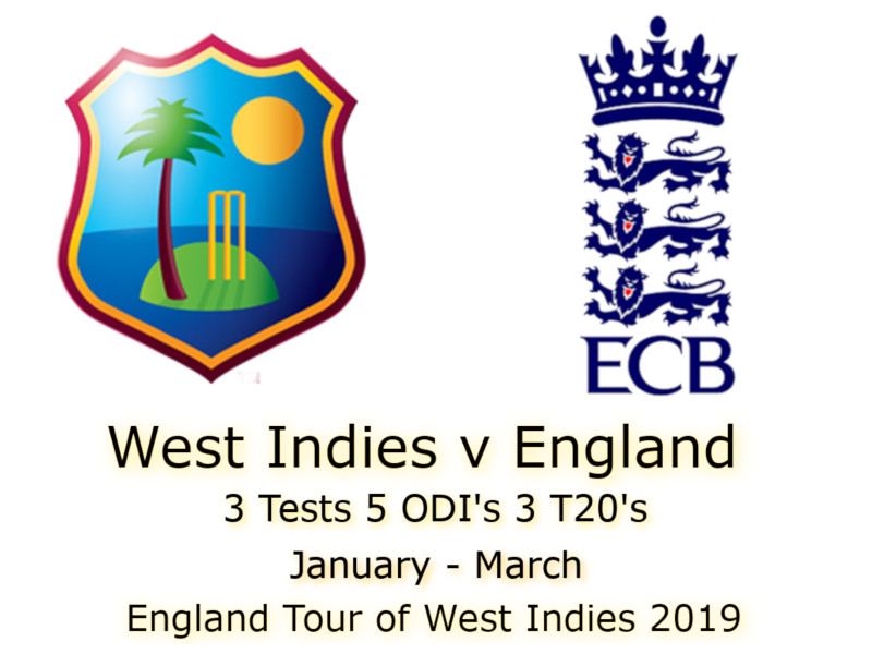 Devildogs England Tour of West Indies 2019 Archive