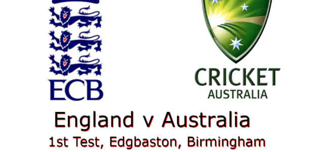 England v Australia Ashes 1st Test 2019