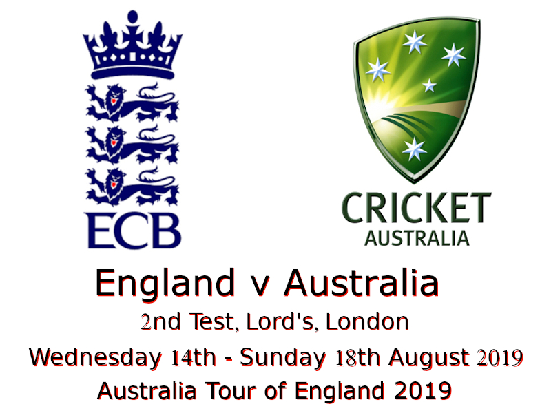 England v Australia Ashes 2nd Test 2019 Devildogs Archive