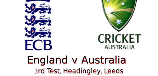England v Australia Ashes 3rd Test 2019