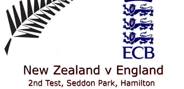 New Zealand v England 2nd Test 2019