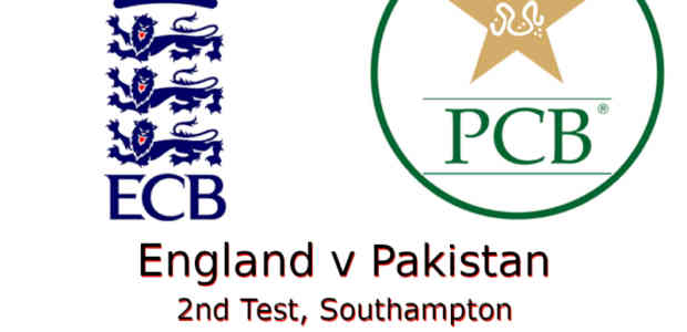 England v Pakistan 2nd Test 2020