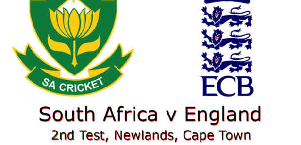 South Africa v England 2nd Test 2020