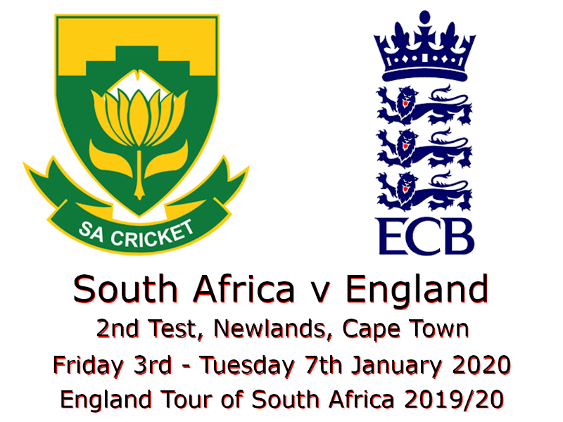 South Africa v England 2nd Test 2019