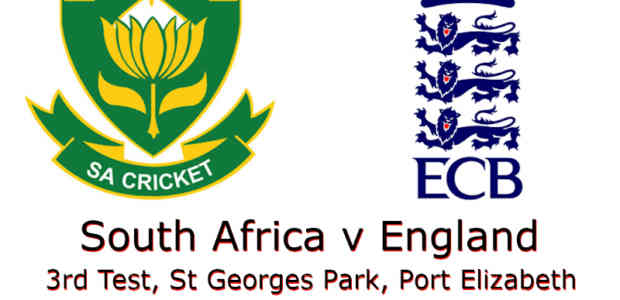 South Africa v England 3rd Test 2020