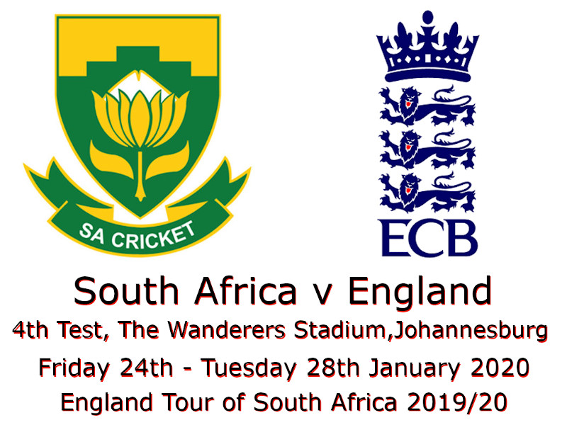South Africa v England 4th Test 2019