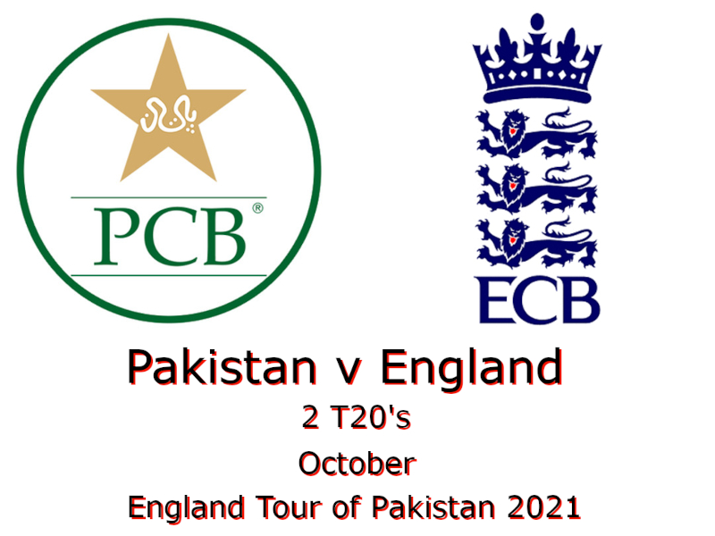 England Tour of Pakistan 2021