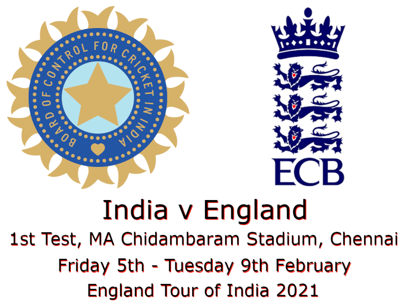 Devildogs India v England 1st Test 2021 Archive