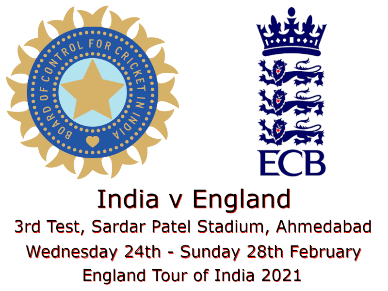Devildogs India v England 3rd Test 2021 Archive