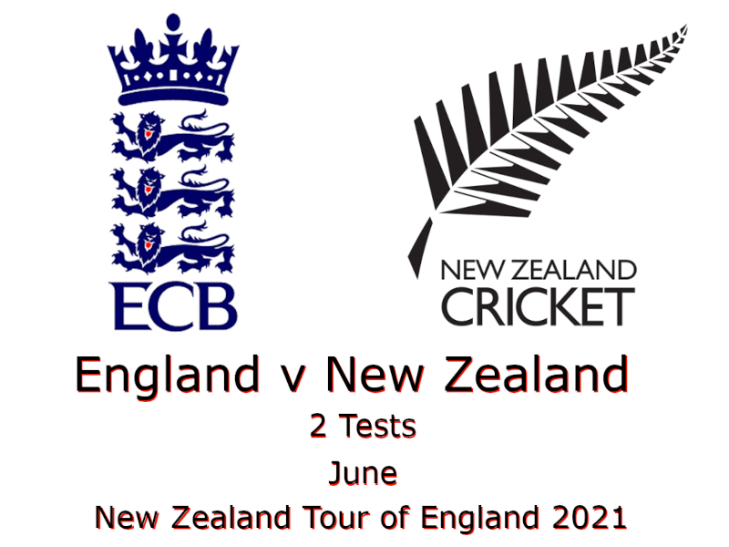 New Zealand Tour of England 2021
