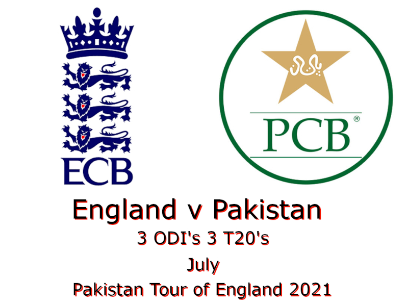 Pakistan Tour of England 2021
