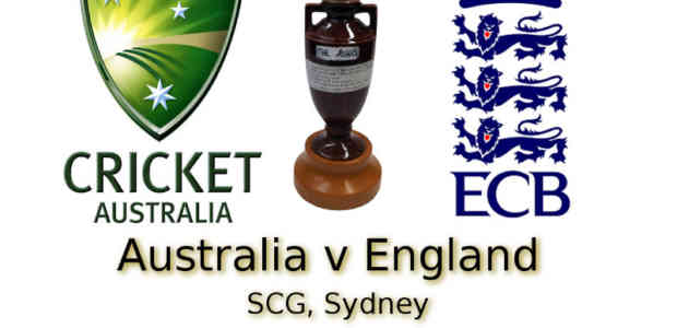 Ashes 5th Test SCG Sydney
