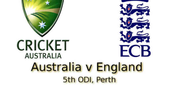 5th ODI Perth
