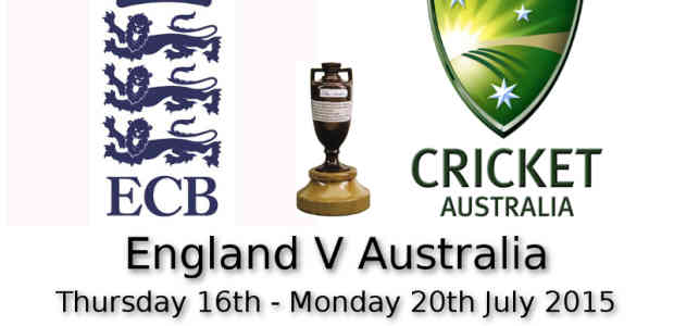 The Ashes 2nd Test Lords