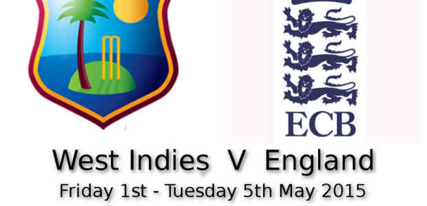 West Indies v England 3rd Test