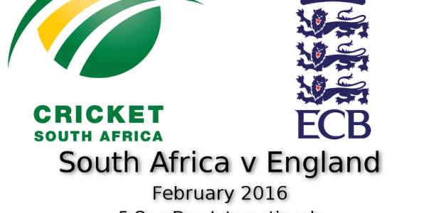 South Africa v England ODI