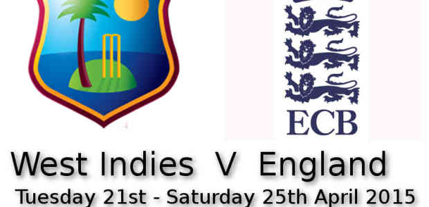 West Indies v England 2nd Test